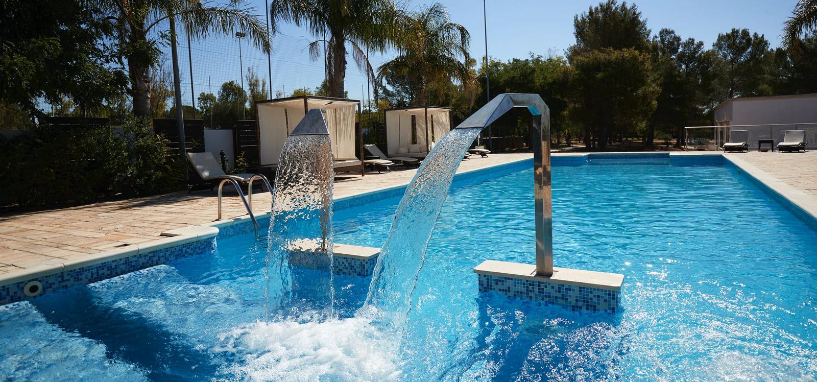 Jorche masseria piscina