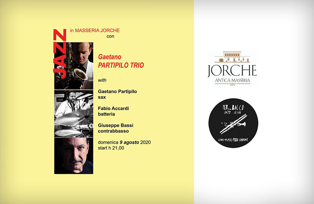 Jazz in masseria Domenica 9 Agosto 1